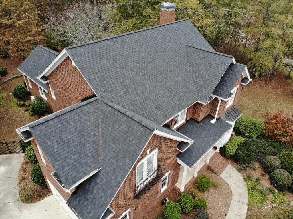 Brand new roof installation Watkins GA.